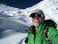 Alan on Manaslu