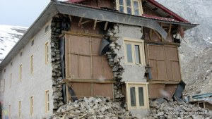 Damage near Lobuche