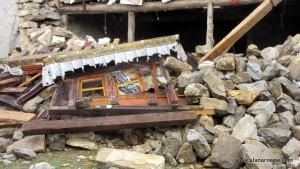 Tengboche Monastery damage
