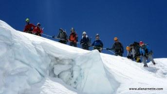 Khumbu Icefall - Everest 2015