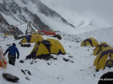 K2 Base Camp Avalanche