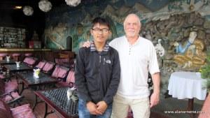 Mingma Sherpa and Alan