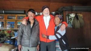 Alan with Kami and Lhapka Diti