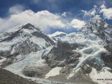 Everest, Lhotse, Nuptse, Icefall from Pumori