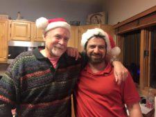 Jim Davidson and Alan