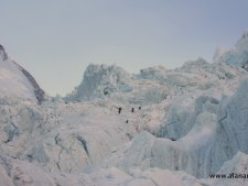 Khumbu Icefall top