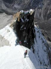 Camp 2 on the Pillar on Ama Dablam in 2000