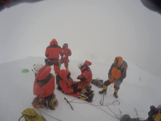 Fredrik Strange Broad Peak summit