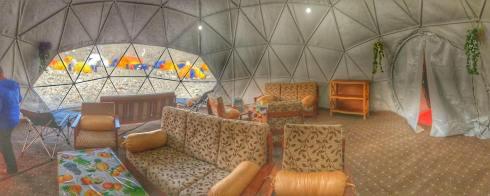 The Furtenbach Lounge Tent.