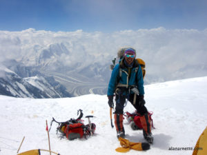 Kami Rita Sherpa on K2 in2014 by Alan Arnette