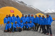 Kobler & Partner Sherpa TeamCourtesy of Kari Kobler