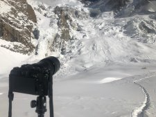 "2018/19 Winter Climbs: 2 ""shapes"" Spotted on Nanga, K2 Team Near C4"