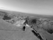 Virtual Everest 2020: Descending from the Summit and a Rescue