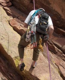 There are an almost unlimited number of class 5 routes on Colorado 14ers  plus other non-14er climbs such as the Flatirons and Monastery near Estes  Park. 86b154205