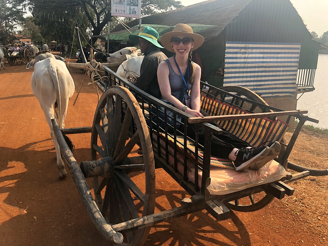 Riding-an-oxcart-in-Cambodia