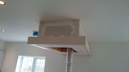 Alan Donald LTD - After Cooker Hood Taped