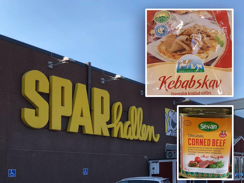 Sparhallen, bilder på kebab infällt