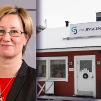 Camilla Gunell ger en miljon euro i bidrag till Svinryggens deponi