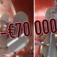 Gudingens propellernav renoveras för €70 000