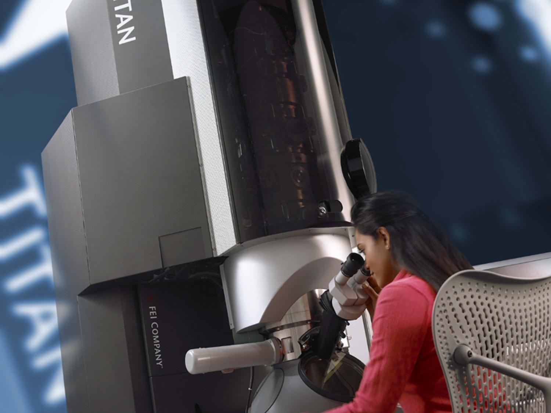 Elektronmikroskopet Titan