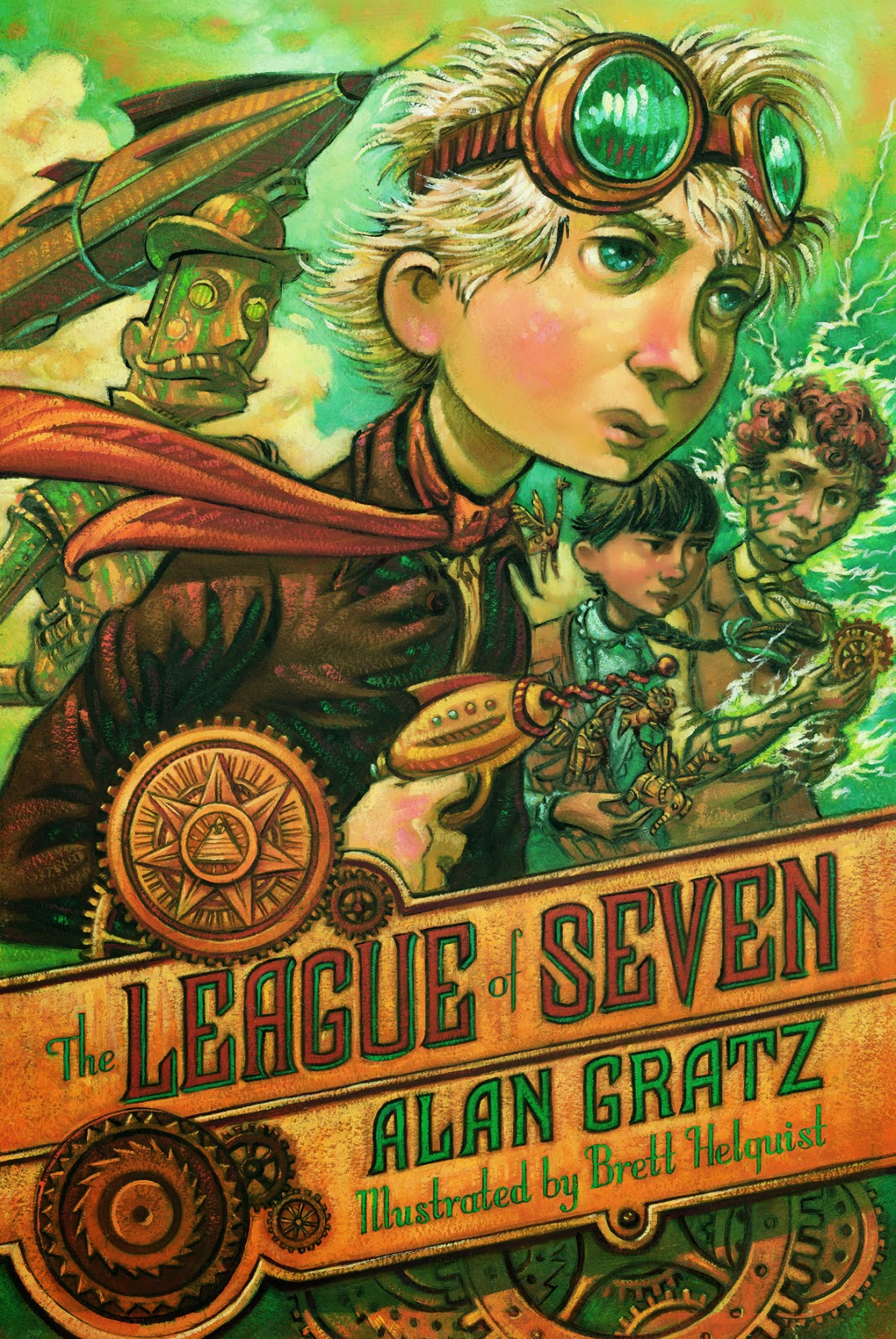 Image result for the league of seven by alan gratz