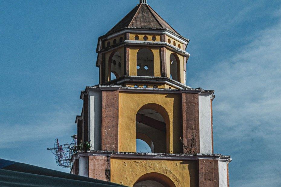 Parroquia Nuestra Señora de Guadalupe en La Misión, Hidalgo, México.
