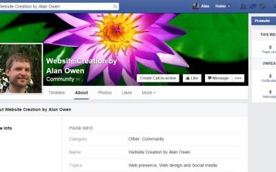 Web Presence – Social Media