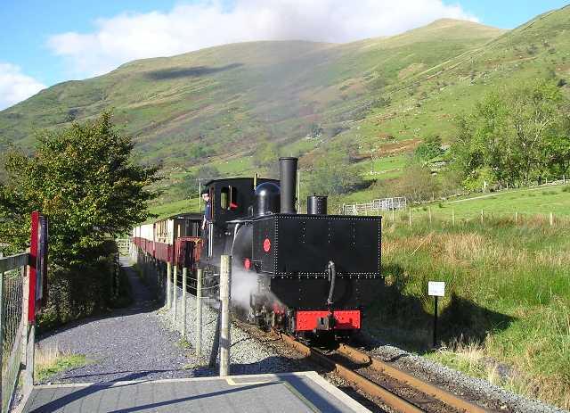 Snowdon Ranger station on the Welsh Highland Railway
