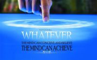 If you believe, you can achieve