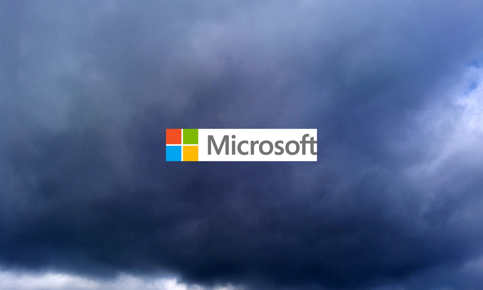 A dark cloud hanging over Microsoft