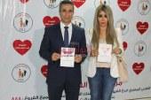 بالصور المتحدث العسكري وزوجته إيمان أبو طالب يدعمان مركز أورام الفيوم