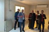 زيارة مفاجئة لوكيل وزارة صحة القليوبية للوحدة الصحية بالأحراز