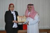 تكريم رجل الاعمال السعودي عبدالعزيز بن سعود بن عبدالعزيز في حفل الأكاديمية البريطانية .