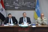 محافظ الاسكندرية يناقش استعدادات جميع اجهزه المحافظة للانتخابات الرئاسية القادمة.