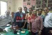 بالصور مركز اورام طنطا يحتفل ببلوغ سن المعاش للدكتور جمال سمسم