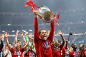فان دايك يحصد جائزة أفضل لاعب في أوروبا