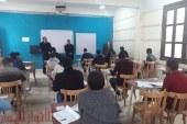 وكيل تعليم الفيوم يتابع امتحانات الصف الأول الثانوي بمدرسة جمال عبدالناصر فترة مسائية