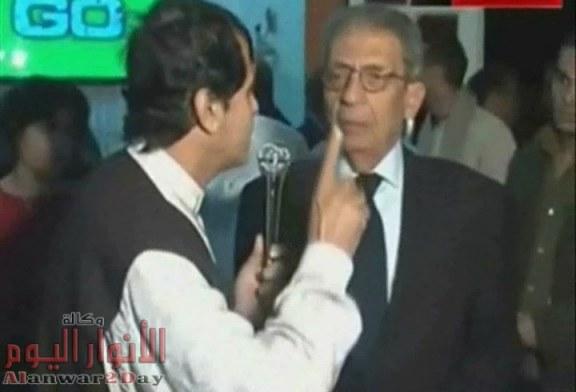 """عمرو موسي ينفي لـ""""الاعلامى طارق الكرداوى"""" إصابته بكورونا ويحذر من خطورة الشائعات"""