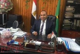 الشكر والعرفان من صاحب مصنع المجد للكسب المستخلص بسيلا البلد لوكيل وزارة الزراعة بالفيوم
