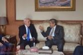 محافظ بور سعيد  يستقبل رئيس اتحاد الغرف التجارية لمناقشة تسهيلات جديدة للمستثمرين