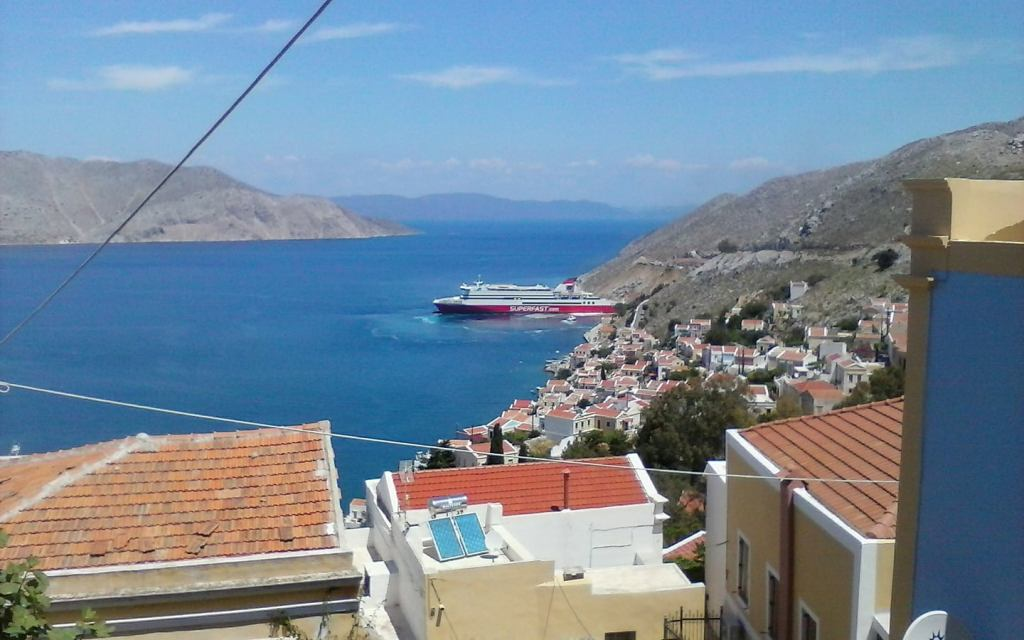 Greece, home of Jackson Marsh, Author of The Clearwater Mysteries series
