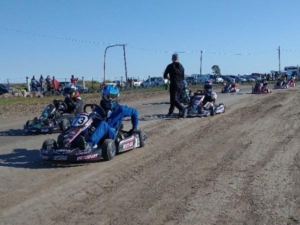 El Superkart disputó la 2da fecha en Punta Alta