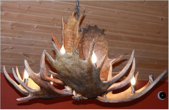 Instructions For Making Antler Chandeliers