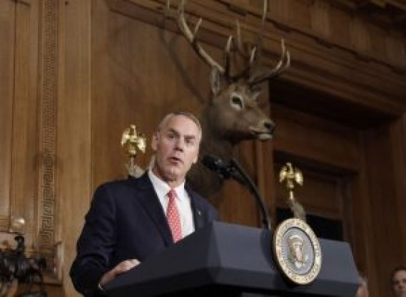 Interior Secretary Zinke will make Alaska stops from Arctic to Anchorage