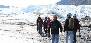 Glacier treks in Alaska