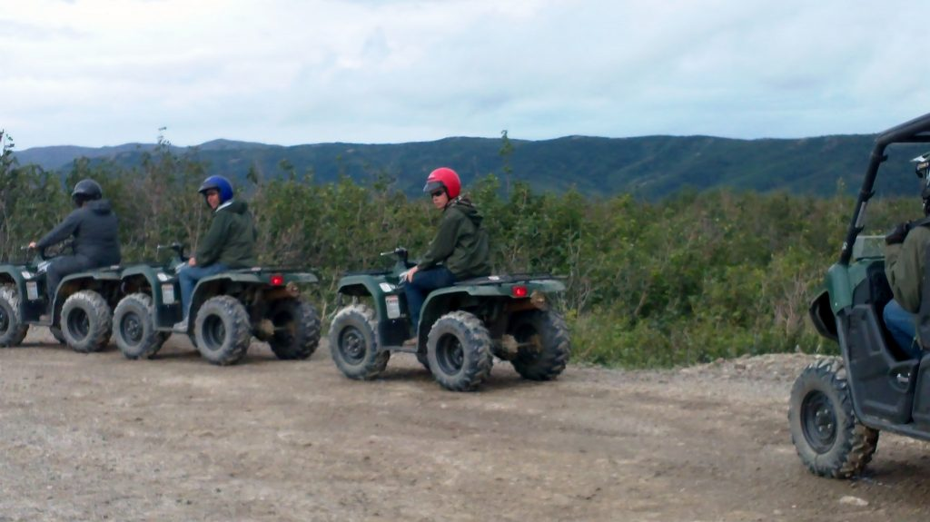 Denali ATV touring