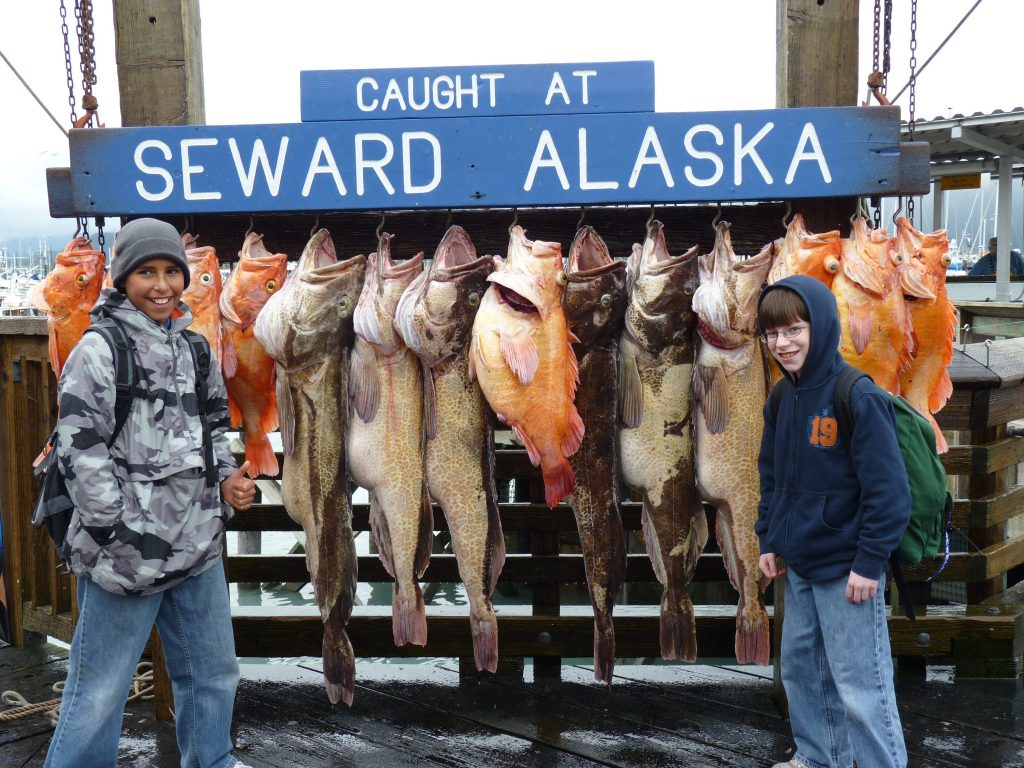 Fishing in Seward Alaska