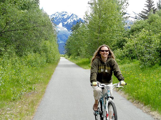Shannon biking