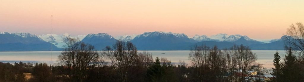 View from AWA property of Kachemak Bay