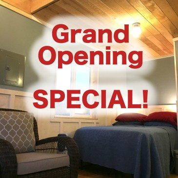 Grand Opening Promotion!